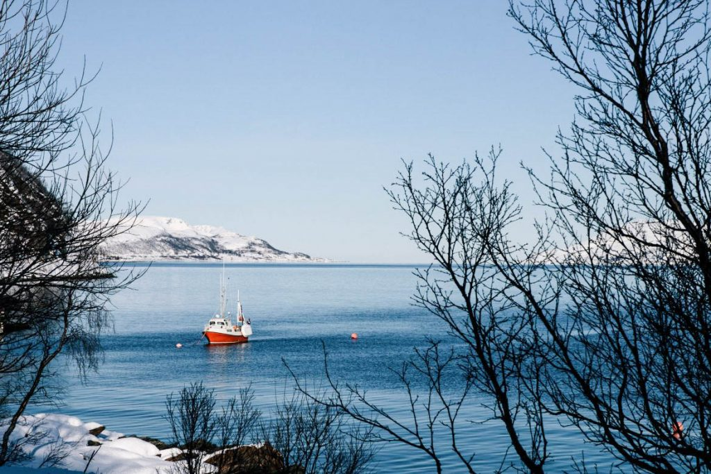 Kvaløya, Tromsø, Norvège