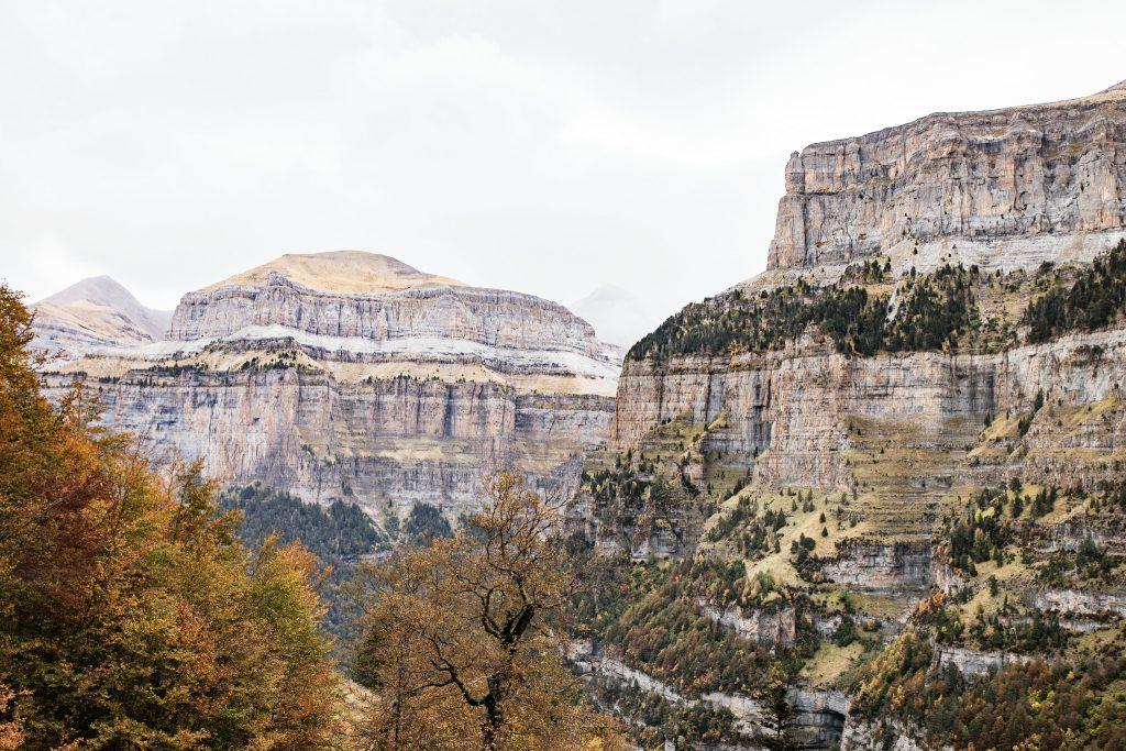 Canyon d'Ordesa, randonnée la Faja peley - parc national Ordesa et du mont perdu