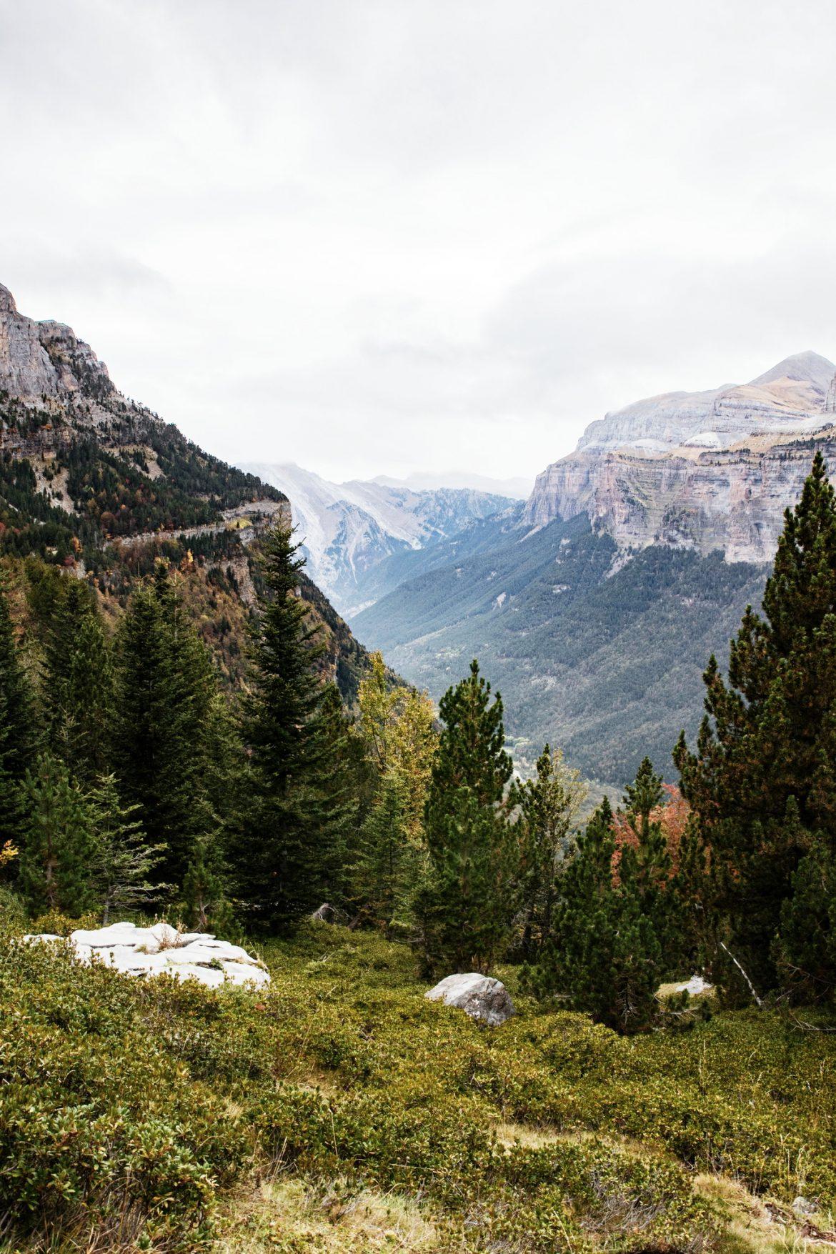 randonnee canyon d'orsea, la Faja peley - parc national Ordesa et du mont perdu