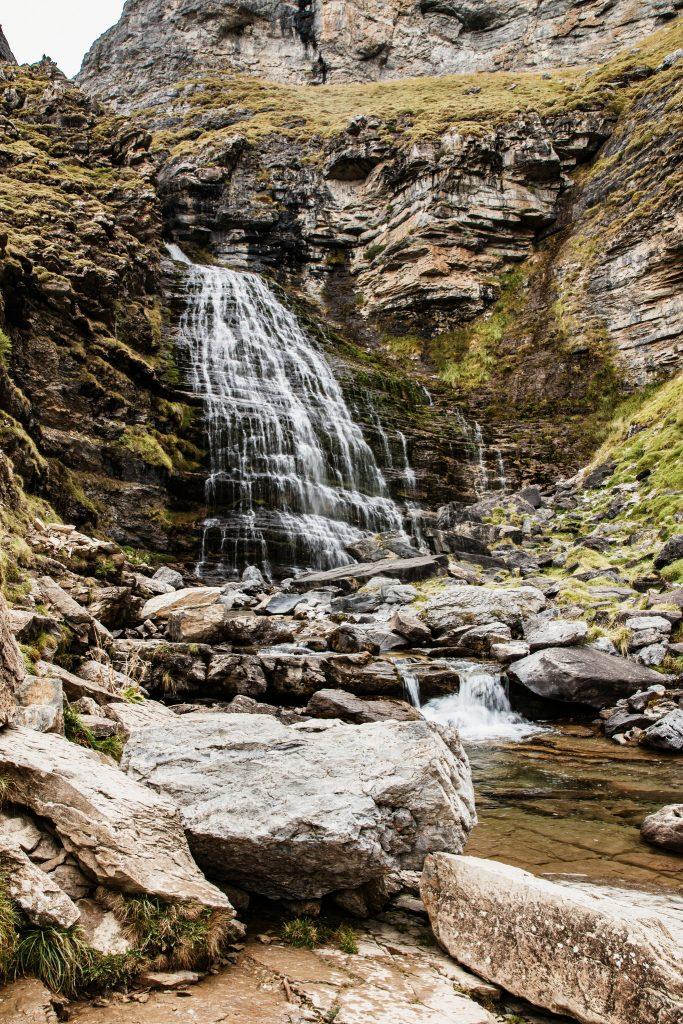 Cascade queue de cheval Canyon Ordesa