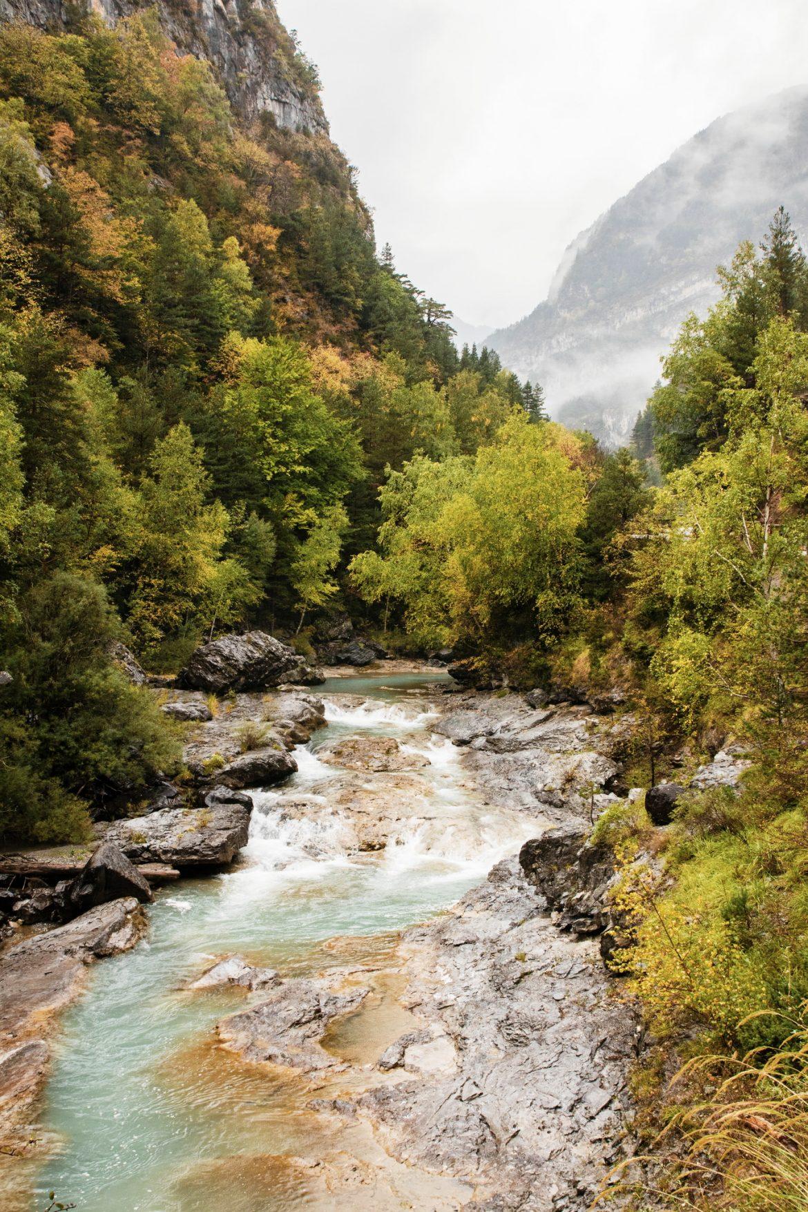 Randonnée dans le parc national d'Ordesa et du Mont Perdu