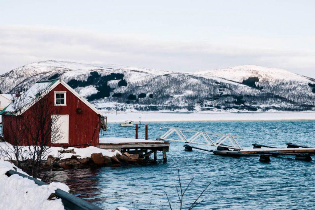 Sommoroy tromso Norvège du nord