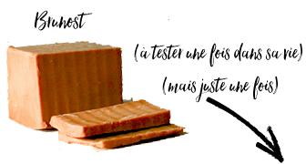 goût du fromage Burnost Norvège