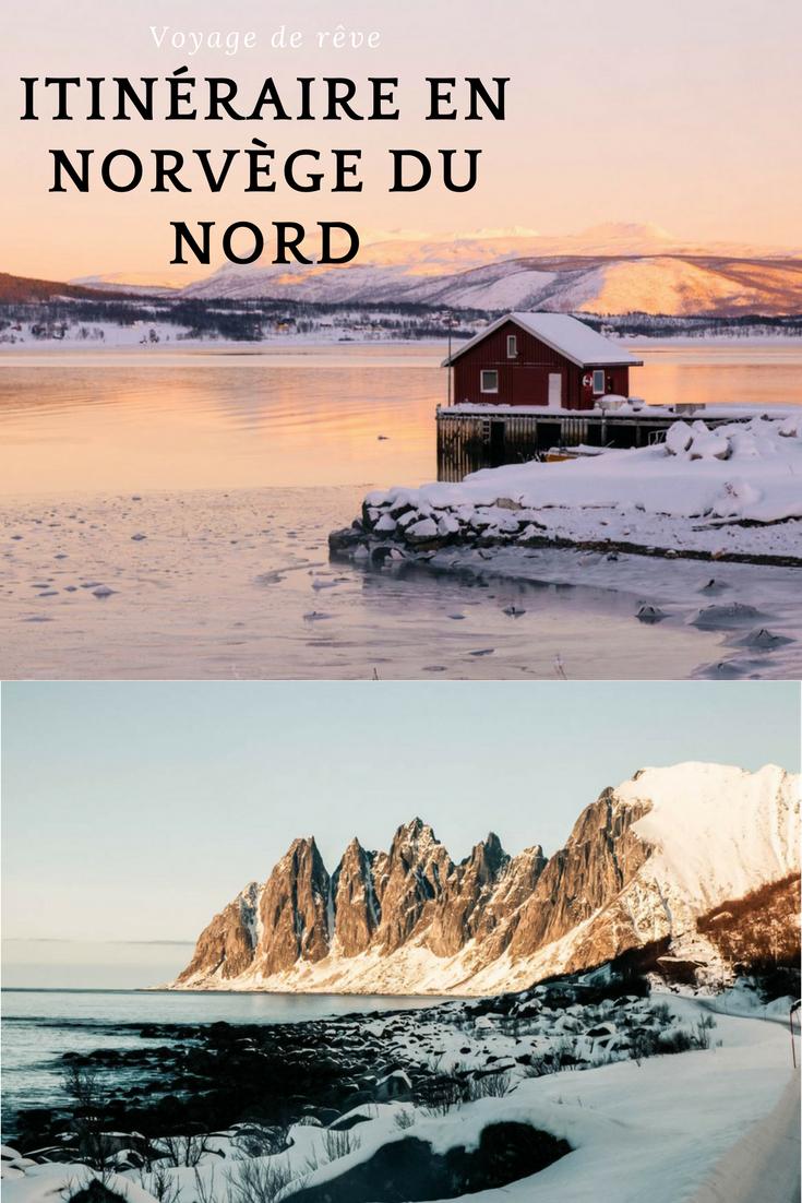 Itinéraire Noirvège du nord : paysages magiques au-delà du cercle polaire