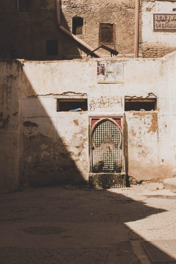 la vieille de Fès au Maroc