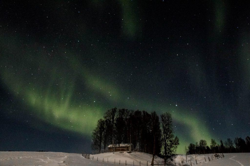 Aurore Boréale en Norvège du Nord