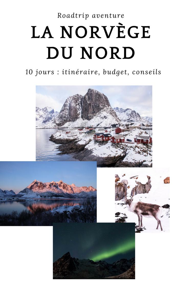 Roadtrip norvège du nord hiver