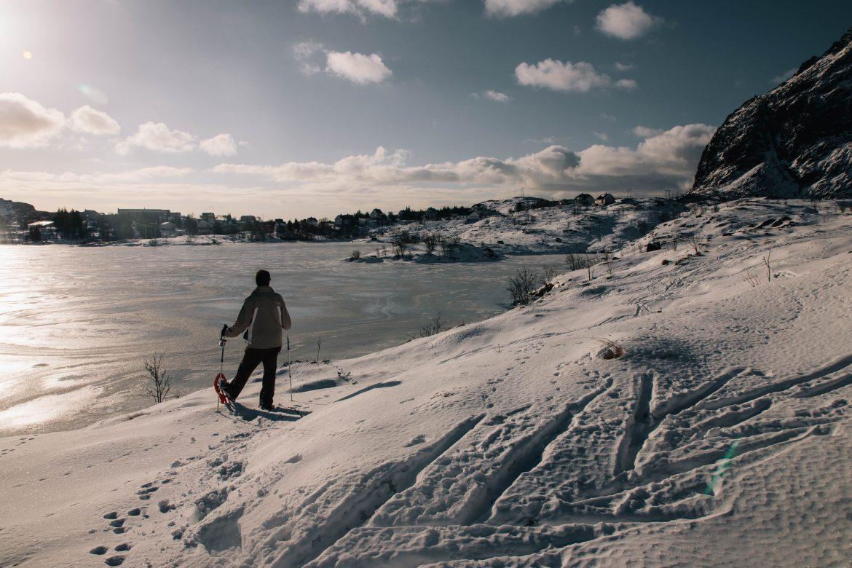 Norvége du nord randonnée raquettes