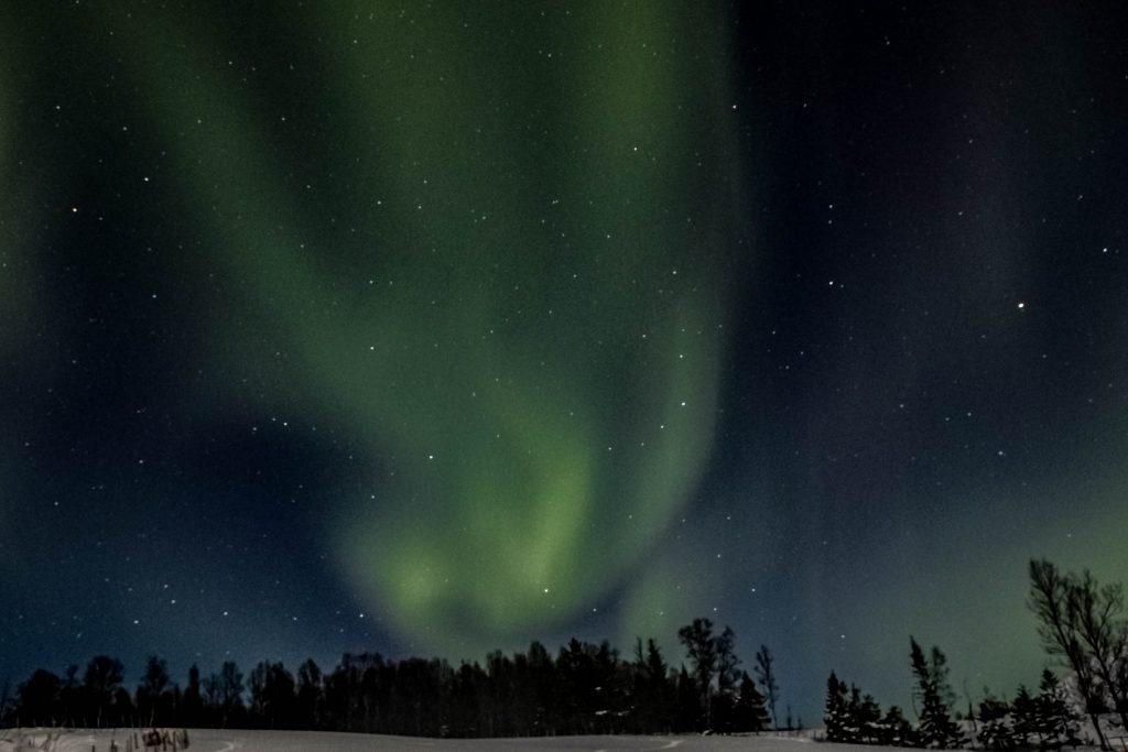 vAurore Boréale en Norvège du Nord