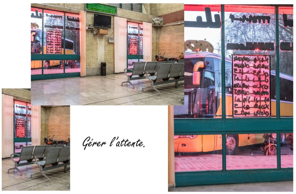 gare bus Iran