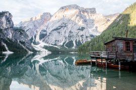 Lago di Braies, le plus beau lac des Dolomites