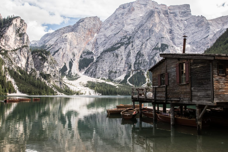Le lago di Braies, le plus lac des Dolomites (pragser Wildsee)