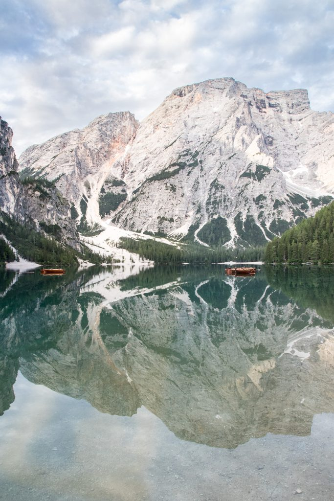 Le lago di Braies, le plus lac des Dolomites