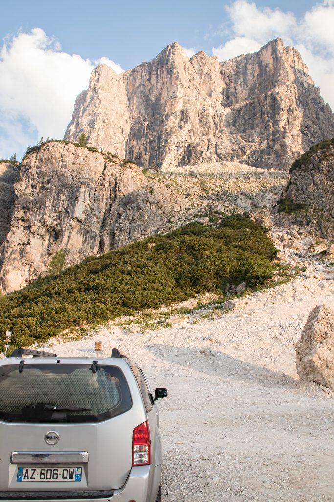 Découvrir les Dolomites en Italie :raid trip van Dolomites