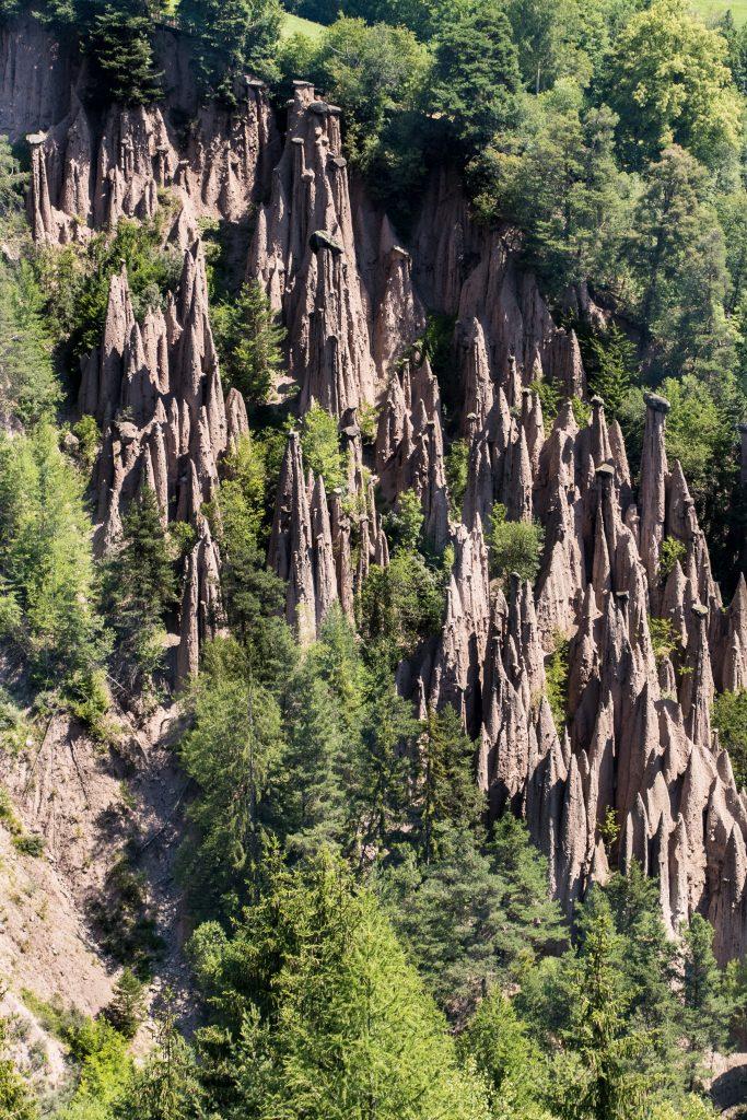 Découvrir les Dolomites en Italie : les Pyramides de terre - Ritten