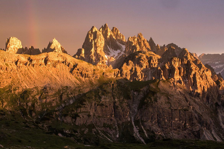Dolomites Italie : Tre Cime di Lavaredo