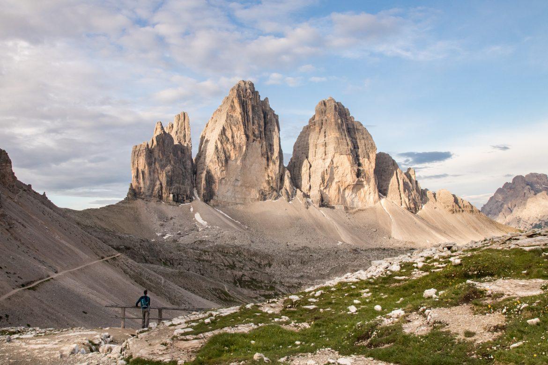 Tre Cime de Lavaredo - Dolomites : randonnée dans le parc naturelal