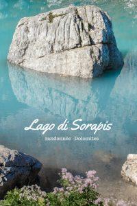 Lago di Sorapis, la plus belle randonnée des Dolomites