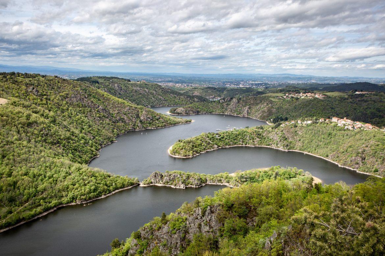 Loire - plateau de la Danse -Saint Victor-sur-Loire - plus beaux endroits de France