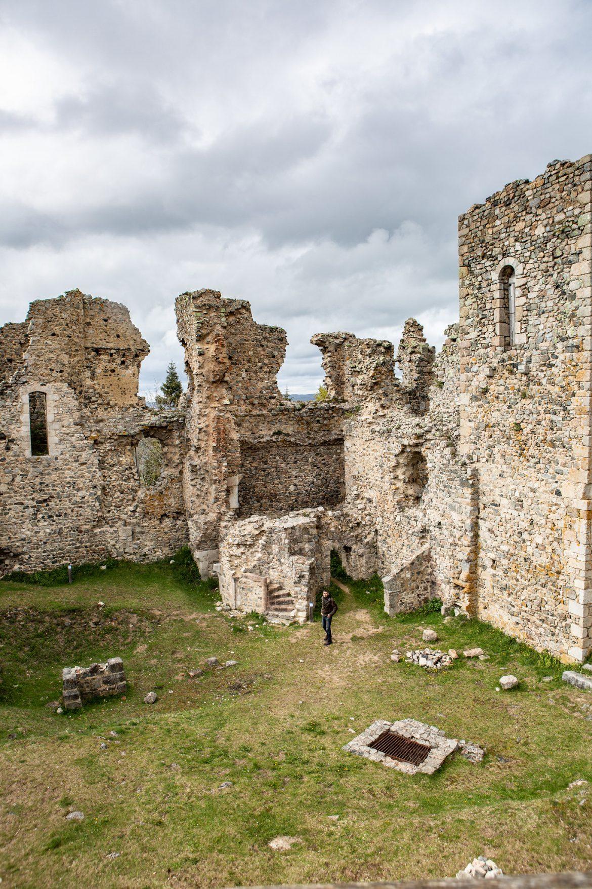 La Loire - Le château des cornes d'Urfés - Plus beaux endroits de France