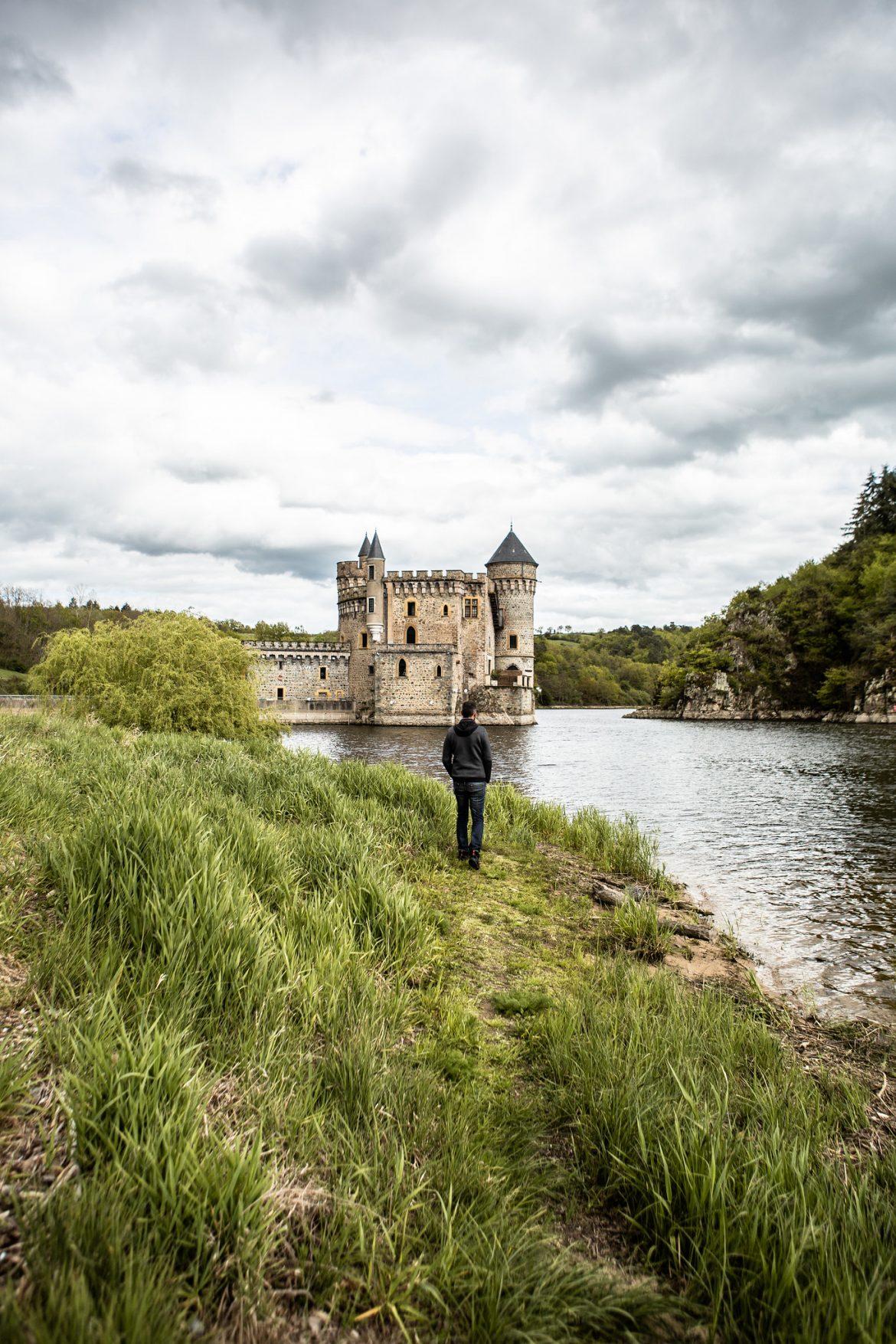La Loire - Le château de la Roche - Plus beaux endroits de France