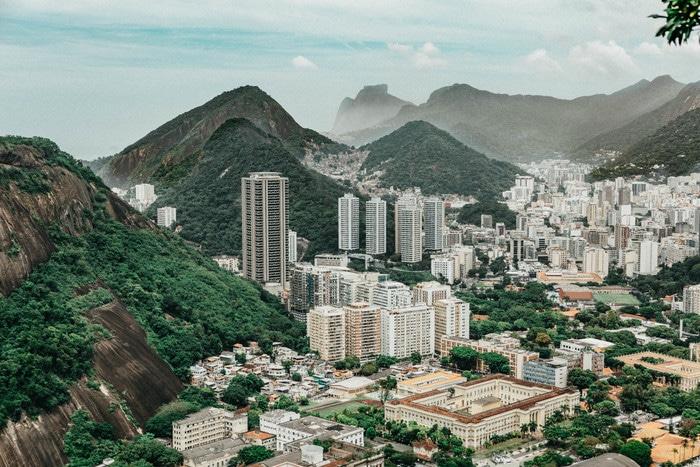 Le Brésil en van